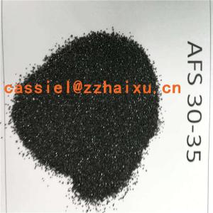 Manufacturers Exporters and Wholesale Suppliers of Chromite sand for foundry AFS40-45 zhengzhou
