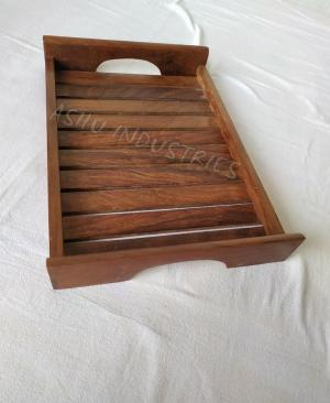 Manufacturers Exporters and Wholesale Suppliers of Wooden Try Saharanpur Uttar Pradesh