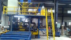 H & I Beam Fitment Station Welding Automation