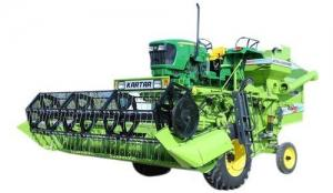 Tractor Combined Harvester